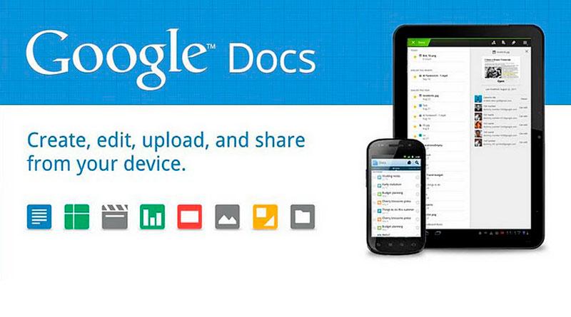 Облачный офис Google вышел для платформ Android и iOS