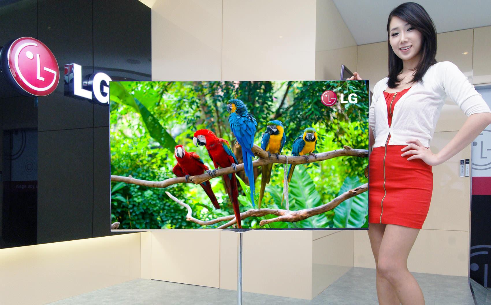 4K OLED телевизоры LG опередили конкурентов на 10 лет