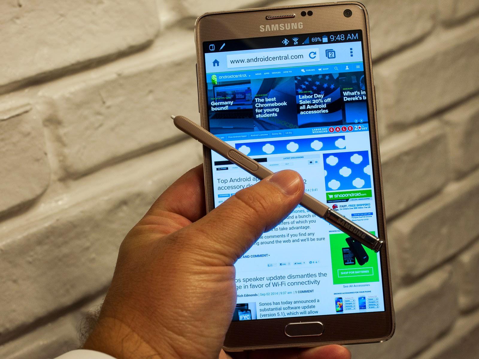 В первых партиях Samsung Galaxy Note 4 обнаружен дефект