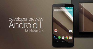 Nexus 5 и 7 обновляются до Android 5.0