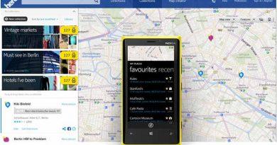 Выйдет картографический сервис HERE Maps на Android