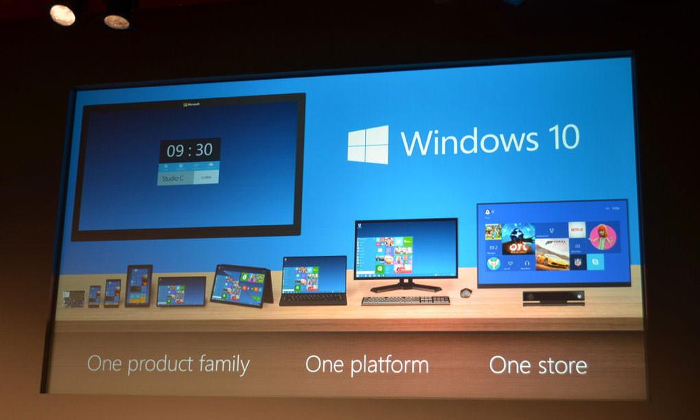 Ждали Windows 9, а получили Windows 10 | инфо с презентации