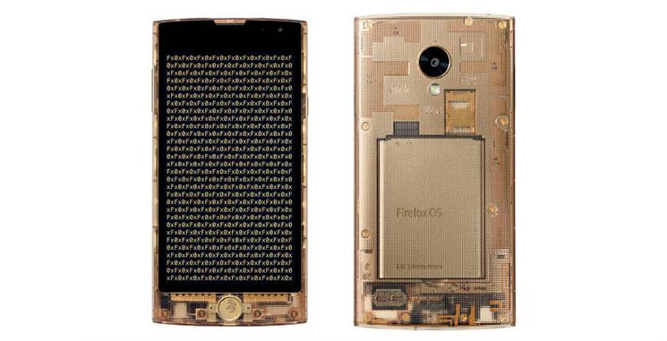 LG Fx0: прозрачный смартфон на Firefox OS | цена, инфо