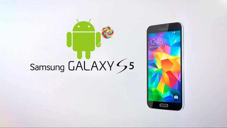 Samsung Galaxy S5 обновляется на Android 5.0