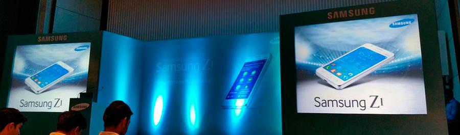 Фотографии и дата анонса Samsung Z1 на Tizen OS