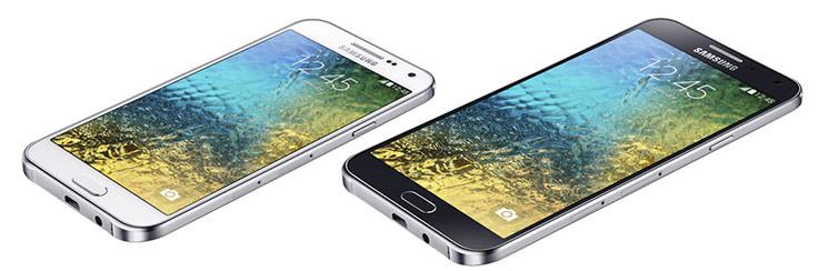 Вышли новые смартфоны Samsung Galaxy E5 и E7 | инфо