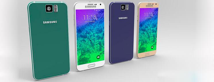 Новые рендеры Samsung GALAXY S6, неофициально