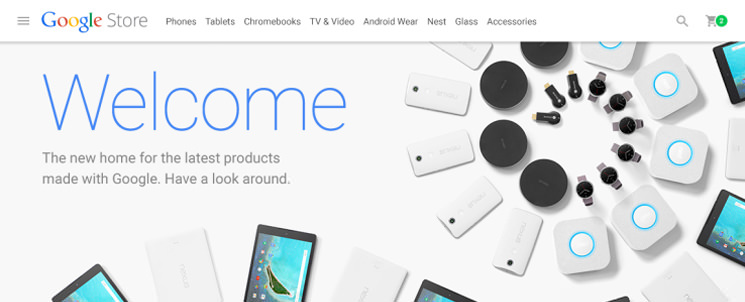 Запущен интернет-магазин гаджетов Google Store | инфо