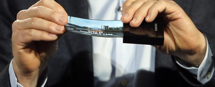 Samsung выпустит гаджеты с гибкими экранами в 2016 году
