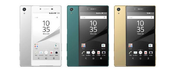 Вышел флагман Sony Xperia Z5 нового поколения
