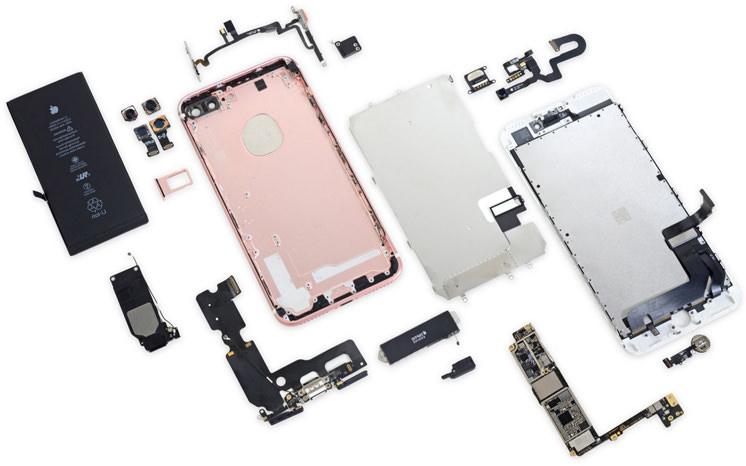 Какова реальная цена iPhone 7? Разобранный смартфон