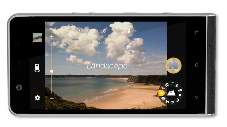 Камерофон Kodak Ektra: экран 5,0-дюйма