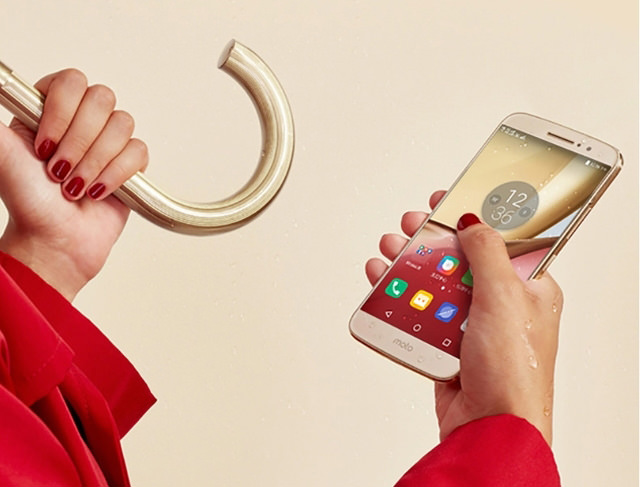 Металлический смартфон Lenovo Moto M