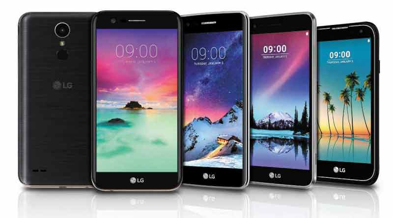 Новые смартфоны LG K3, K4, K8, K10, Stylus 3 | характеристики