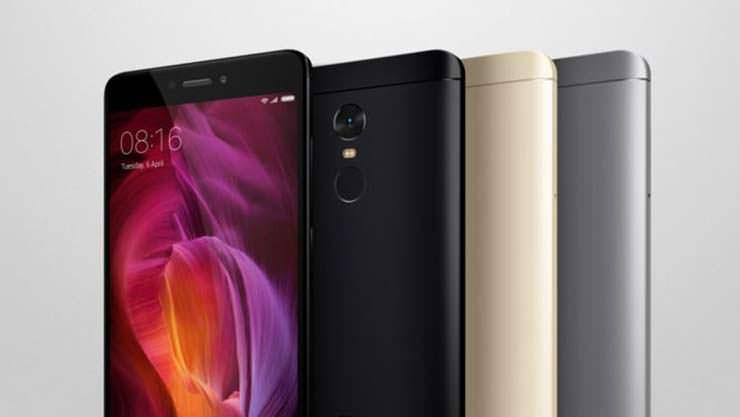 Смартфон с большой емкостью аккумулятора Xiaomi Redmi Note 4