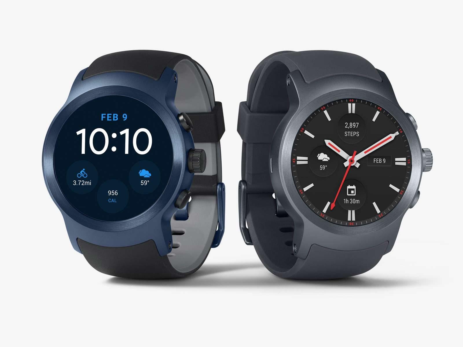 Цена LG Watch Sport составляет $349