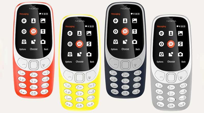 Легендарная Nokia 3310 вернулась в 2017 году | цена, инфо