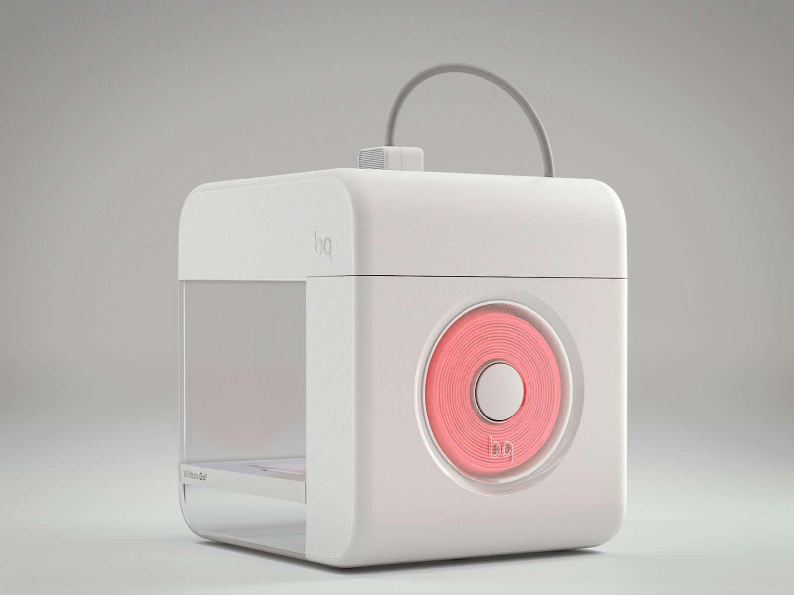 Witbox Go!: первый 3D-принтер на Android