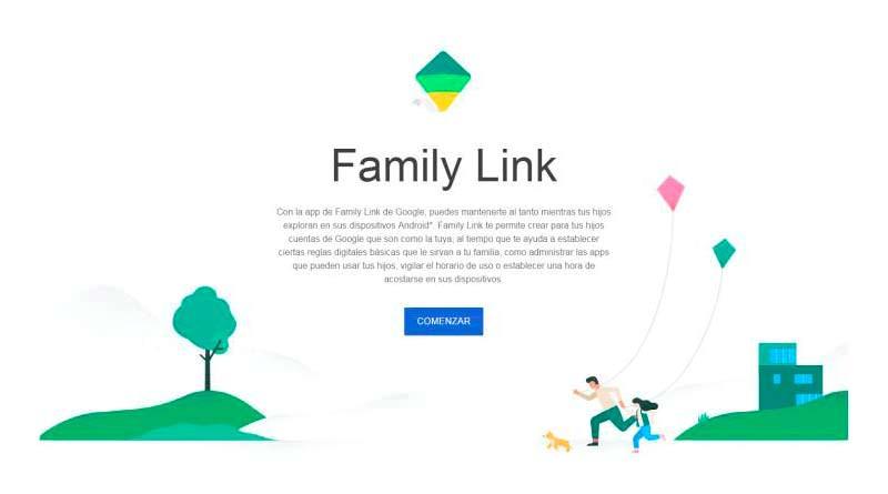 Family Link от Google родительский контроль детей в Интернет