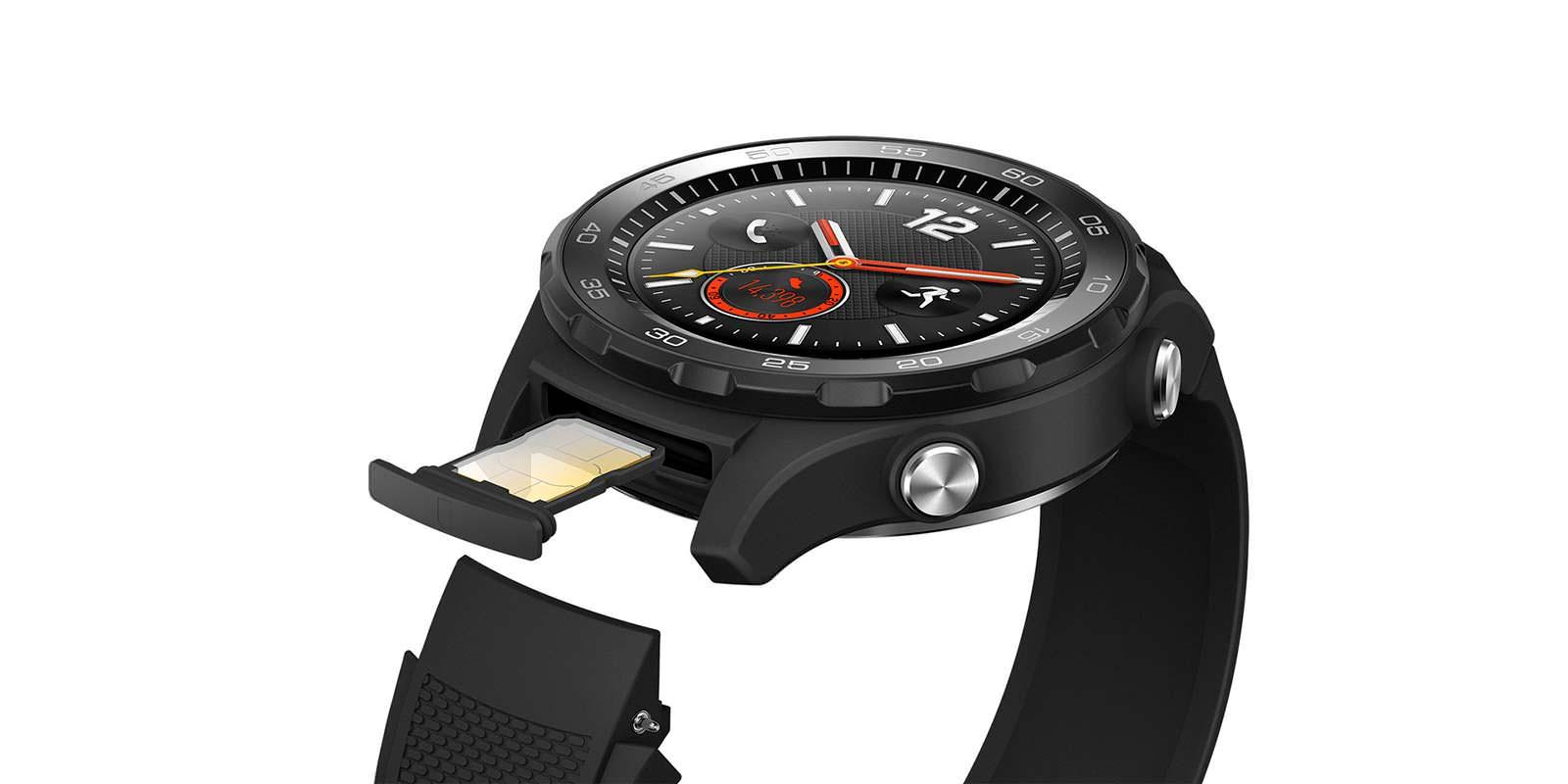 Huawei Watch 2: SIM-карта под креплением ремешка