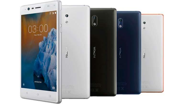 Цена Nokia 3 – 139 евро
