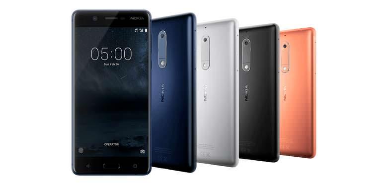 Цена Nokia 5 в Европе – 189 евро
