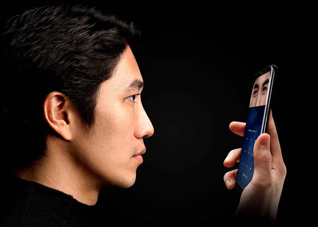 Сканер радужки глаз Samsung Galaxy S8 и S8+