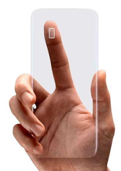 Сканер отпечатков пальцев сзади Samsung Galaxy S8 и S8+