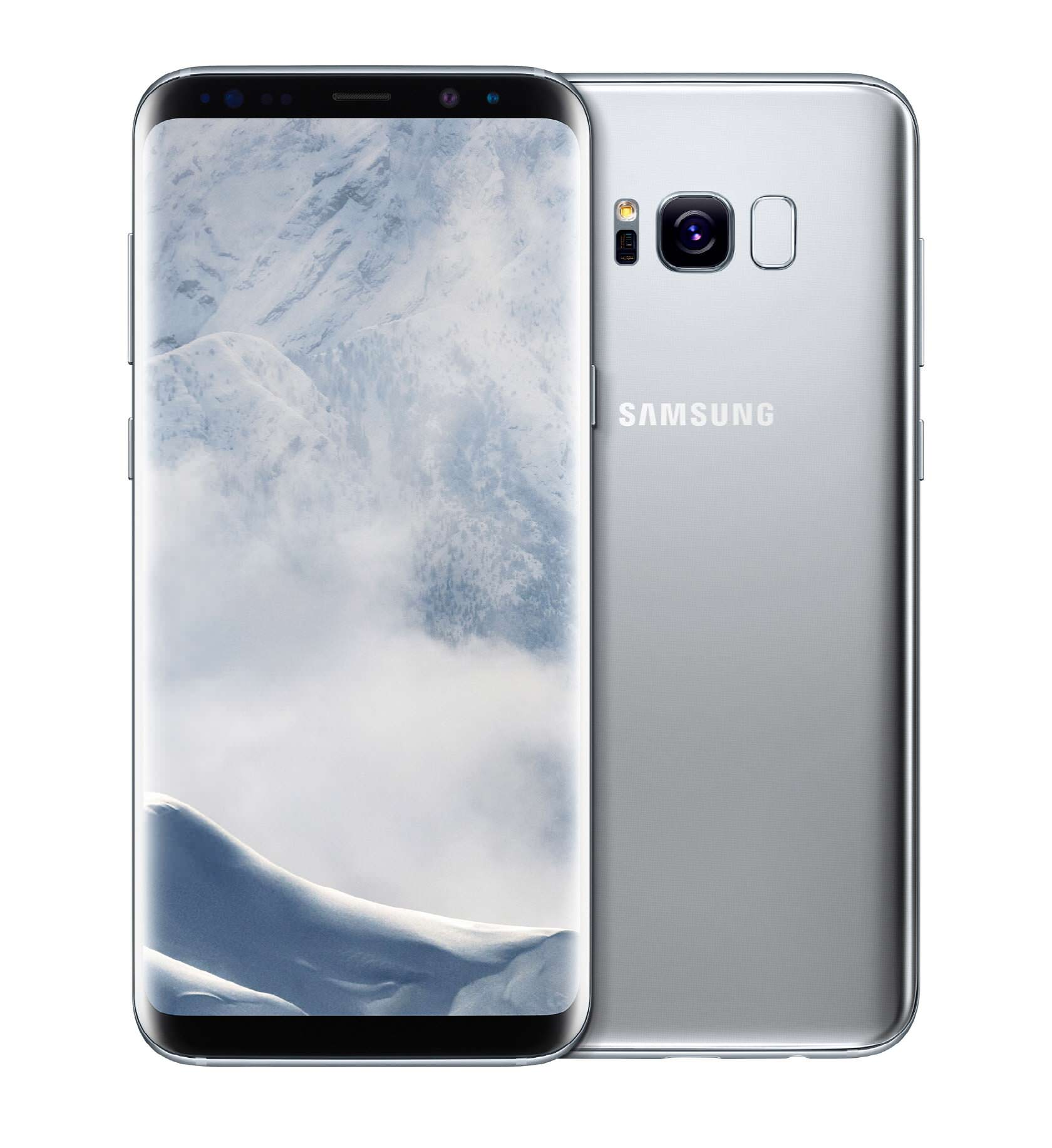 Samsung Galaxy S8 и S8+ серебристый