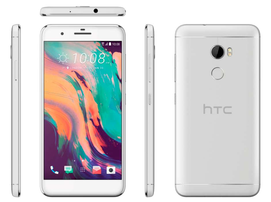 Габариты HTC One X10: 152,9х75,6х8,23 мм при весе 175 г.