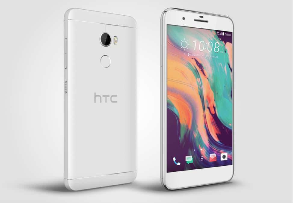 Серебристый HTC One X10