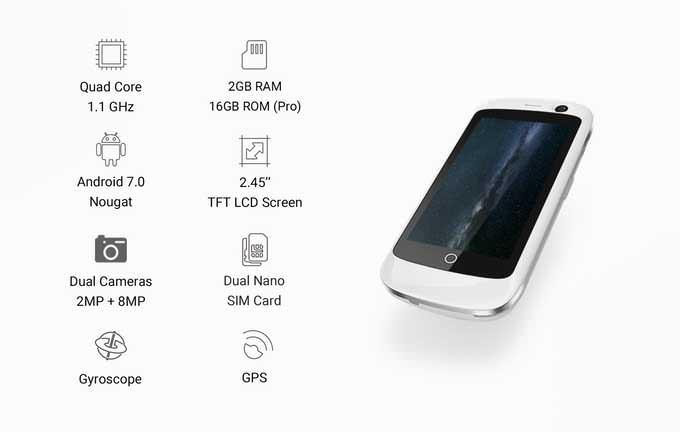 Характеристики 4G смартфона Jelly
