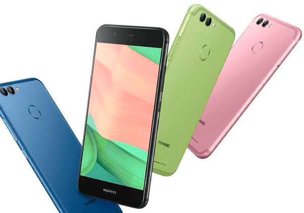 Металлические смартфоны Huawei nova 2 и nova 2 Plus
