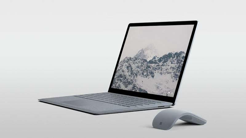 Стильный ноутбук Microsoft Surface Laptop