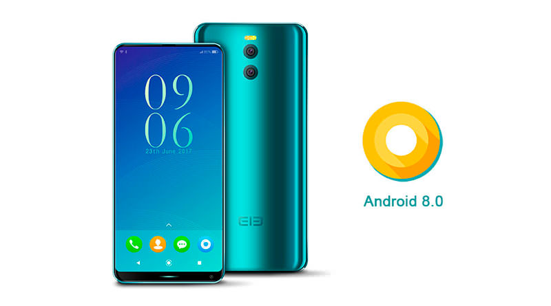 Elephone анонсировал первый смартфон на Android 8.0