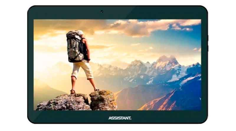 Assistant AP-107G - недорогой базовый планшет | обзор, цена
