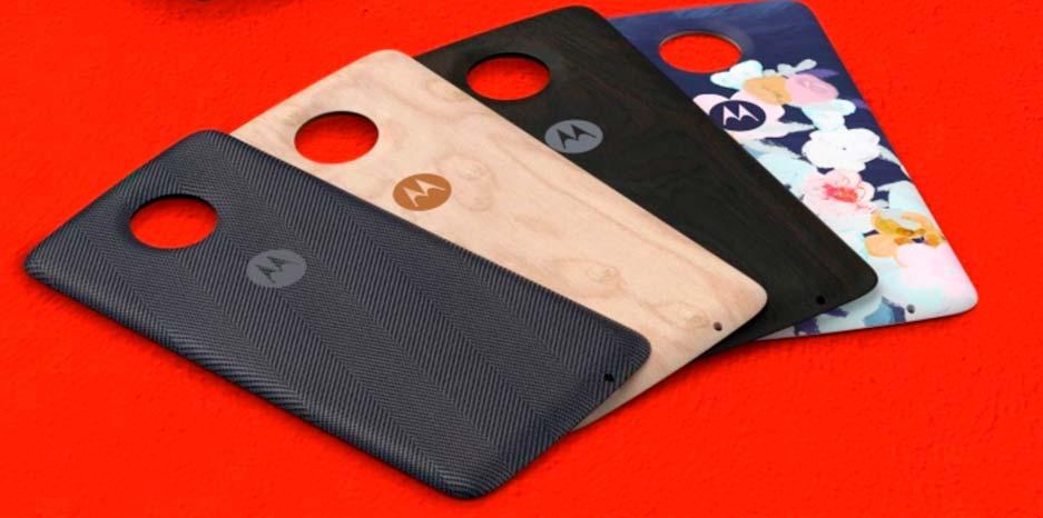 Moto Style Shell: чехол для беспроводной зарядки Moto Z2 Play