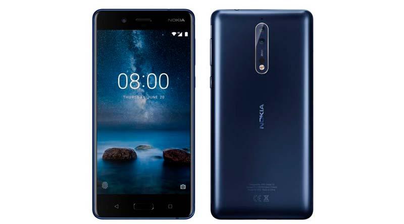 Флагманский смартфон Nokia 8 прикнул к моделям 3, 5 и 6