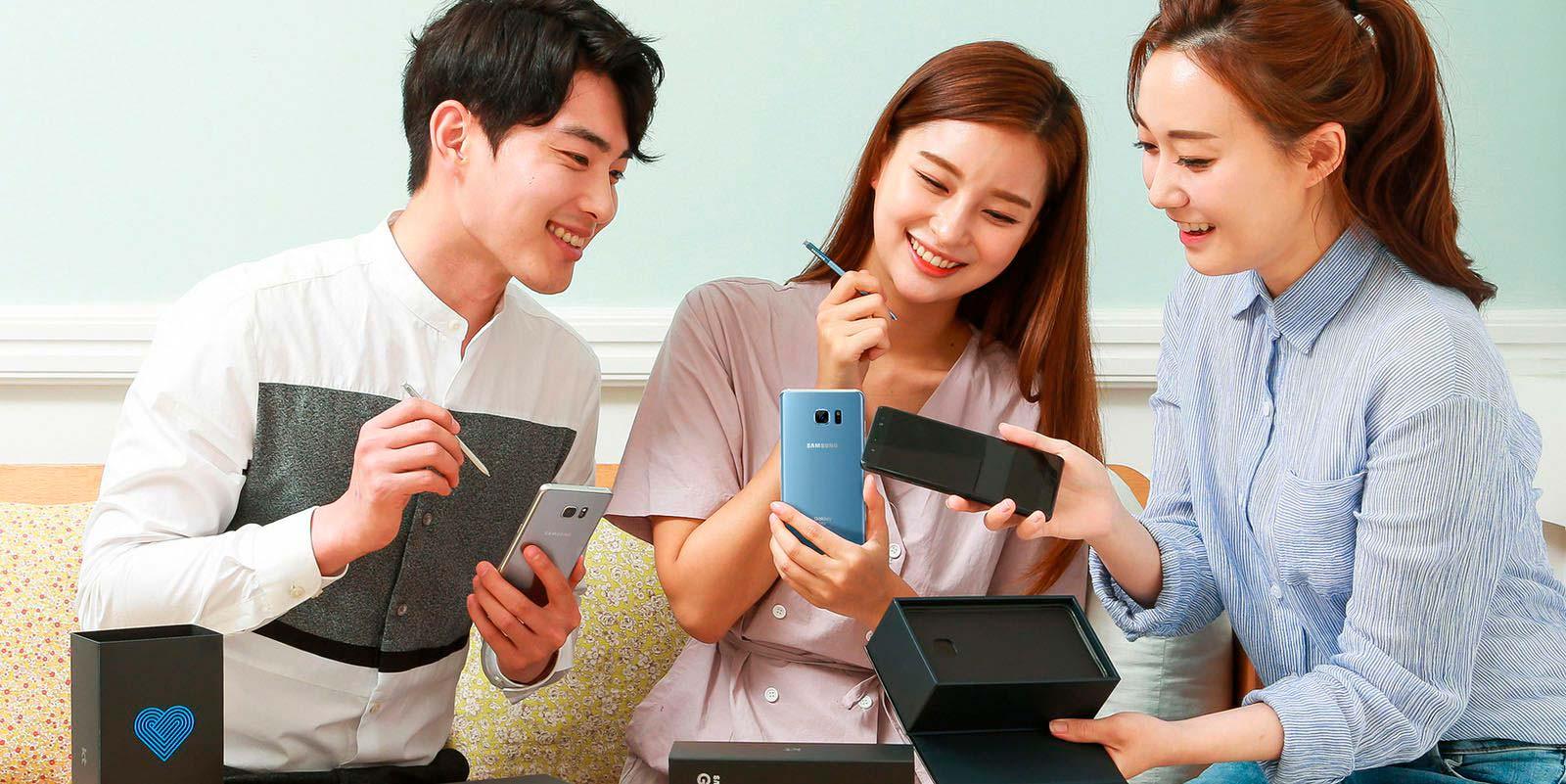 Обновленный Samsung Galaxy Note Fan Edition без проблем с батареей