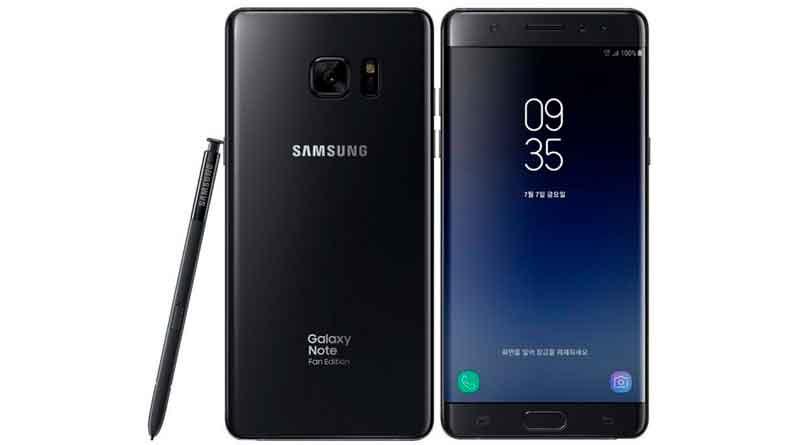 Фаблет Samsung Galaxy Note 7 вернулся без проблем с батареей