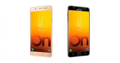 Вышел большой металлический фаблет Samsung Galaxy On Max