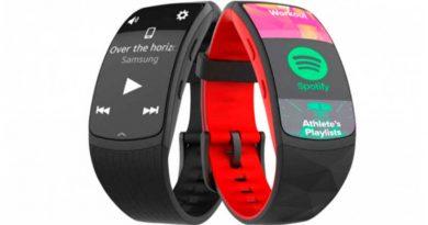 Вышел новый фитнес-браслет Samsung Gear Fit2 Pro на Tizen