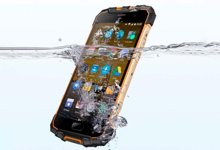 Ulefone Armor 2: мощный защищенный смартфон по IP68