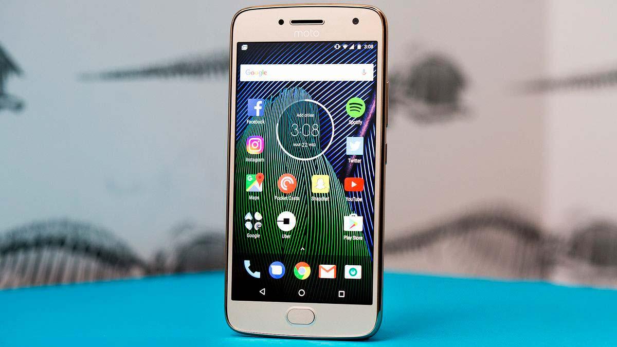 Лучший смартфон 2017 года #5. Moto G5