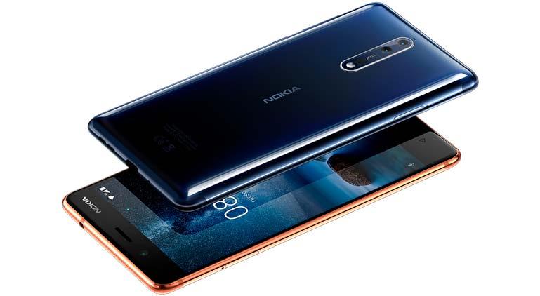 Цена Nokia 8: 599 евро