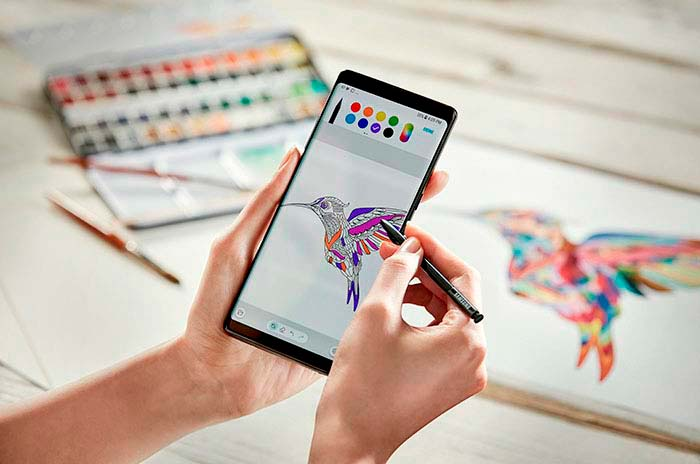 Samsung Galaxy Note8: до 4096 степеней нажатия стилуса