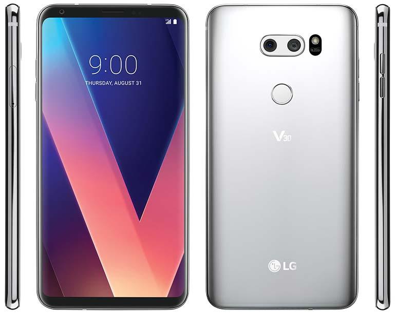 Топовый смартфон LG V30: водозащита по IP68