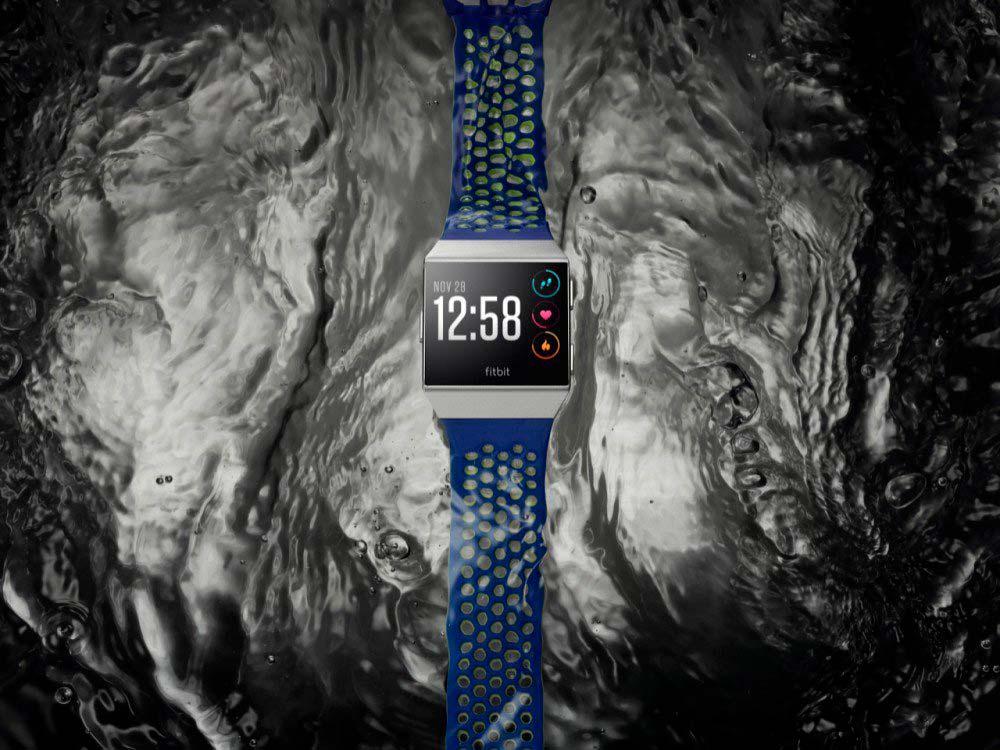 Fitbit Ionic: водонепроницаемые смарт-часы для плавания
