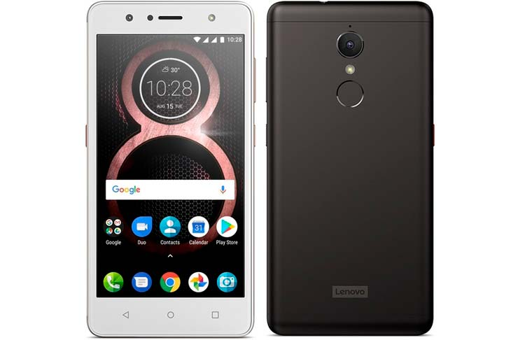 Lenovo K8: металлический смартфон на чистом Android 7.1.1