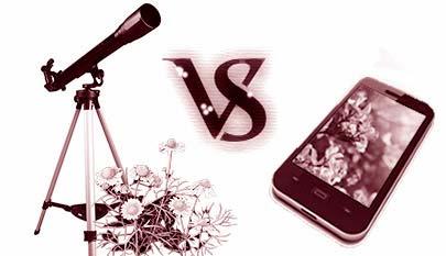 Телескоп или смартфон - какой подарок лучше